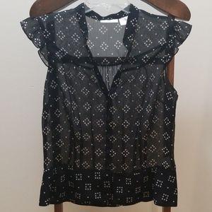 Worthington figure flattering blouse. Sz 10